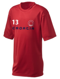 Croatia  Holloway Kid's Zoom Performance T-Shirt