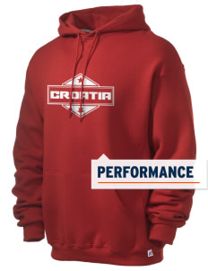 Croatia Russell Men's Dri-Power Hooded Sweatshirt