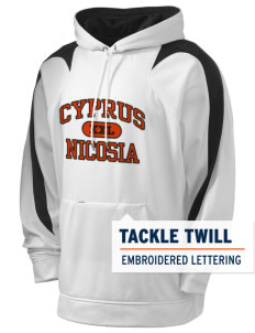 Cyprus Holloway Men's Sports Fleece Hooded Sweatshirt with Tackle Twill