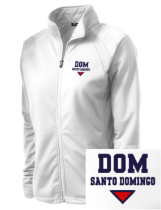 Dominican Republic Embroidered Women's Tricot Track Jacket
