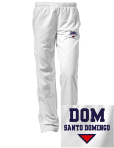 Dominican Republic Embroidered Women's Tricot Track Pants