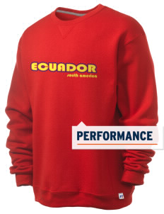 Ecuador  Russell Men's Dri-Power Crewneck Sweatshirt