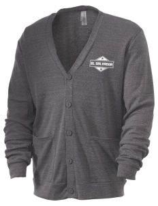 El Salvador Men's 5.6 oz Triblend Cardigan