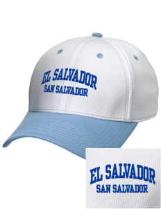 El Salvador Embroidered New Era Snapback Performance Mesh Contrast Bill Cap