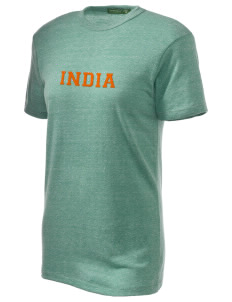 India Embroidered Alternative Unisex Eco Heather T-Shirt