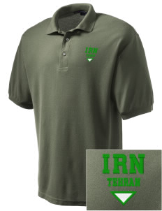 Iran Embroidered Men's Silk Touch Polo