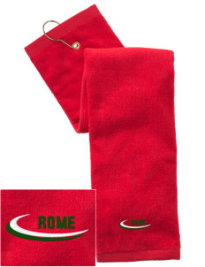 Italy Embroidered Hand Towel with Grommet