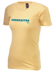 Kazakhstan Alternative Women's Basic Crew T-Shirt