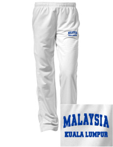 Malaysia Embroidered Women's Tricot Track Pants
