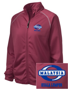 Malaysia Embroidered Holloway Women's Attitude Warmup Jacket