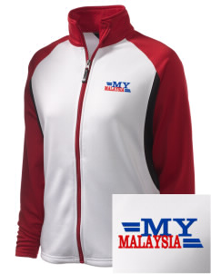 Malaysia Embroidered Holloway Women's Reaction Tri-Color Jacket