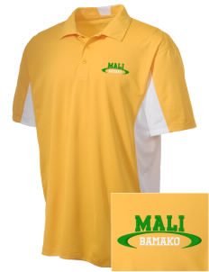 Mali Embroidered Men's Side Blocked Micro Pique Polo