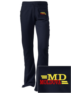 Moldova Embroidered Holloway Women's Axis Performance Sweatpants