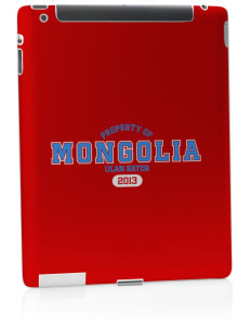 Mongolia Apple iPad 2 Skin