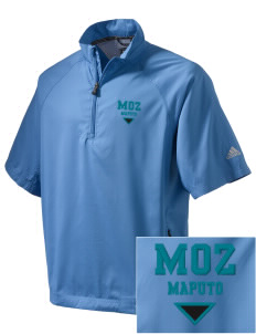Mozambique Embroidered adidas Men's ClimaProof Wind Shirt