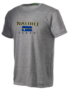 Nauru Alternative Men's Eco Heather T-shirt