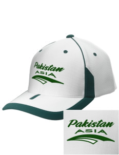 Pakistan Embroidered M2 Universal Fitted Contrast Cap