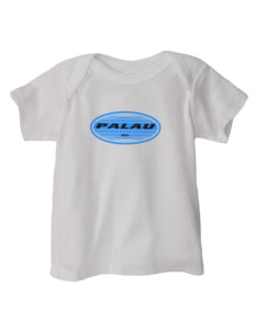 Palau  Baby Lap Shoulder T-Shirt