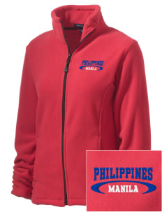 Philippines Embroidered Women's Wintercept Fleece Full-Zip Jacket