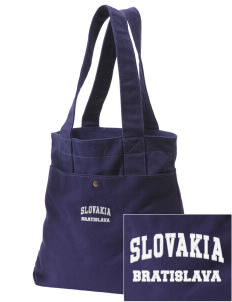 Slovakia Embroidered Alternative The Berkeley Tote