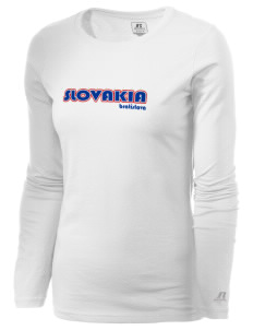 Slovakia  Russell Women's Long Sleeve Campus T-Shirt