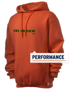Sri Lanka Russell Men's Dri-Power Hooded Sweatshirt