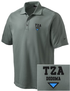 Tanzania Embroidered Nike Men's Dri-FIT Pique II Golf Polo