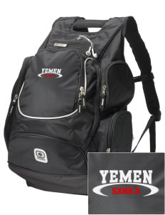 Yemen  Embroidered OGIO Bounty Hunter Backpack