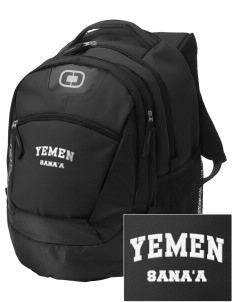Yemen Embroidered OGIO Rogue Backpack