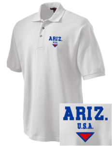 Arizona Embroidered Tall Men's Pique Polo