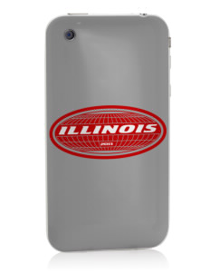 Illinois Apple iPhone 3G/ 3GS Skin