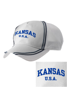 Kansas  Embroidered Champion Athletic Cap
