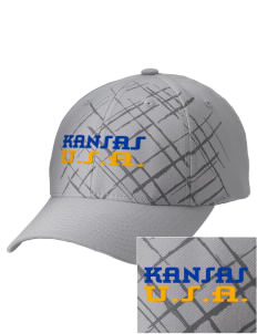 Kansas Embroidered Mixed Media Cap