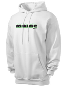 Maine Men's 7.8 oz Lightweight Hooded Sweatshirt