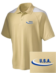 New Hampshire Embroidered Holloway Men's Frequency Performance Pique Polo