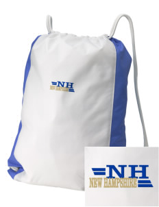 New Hampshire Embroidered Holloway Home and Away Cinch Bag