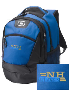 New Hampshire Embroidered OGIO Rogue Backpack