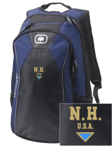 New Hampshire Embroidered OGIO Marshall Backpack