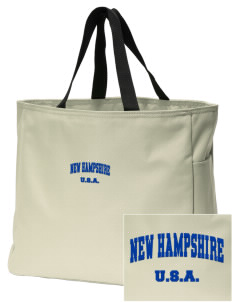 New Hampshire Embroidered Essential Tote