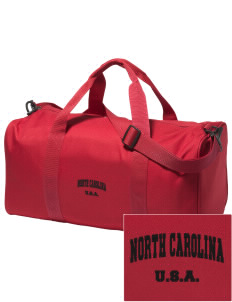 North Carolina Embroidered Holloway Duffel Bag