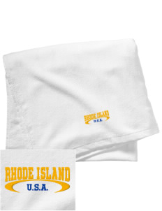 Rhode Island Embroidered Beach Towel