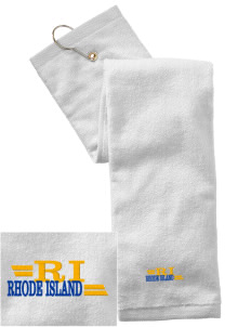 Rhode Island Embroidered Hand Towel with Grommet