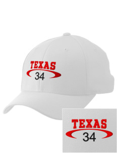 Texas Embroidered Pro Model Fitted Cap