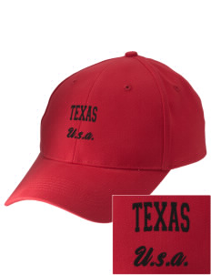 Texas Embroidered Low-Profile Cap