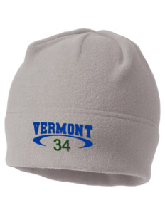 Vermont Embroidered Fleece Beanie