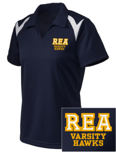 Riverview East Academy Hawks Embroidered Holloway Women's Laser Polo
