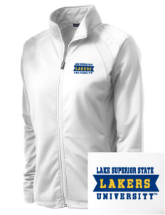 Lake Superior State University Lakers Embroidered Women's Tricot Track Jacket