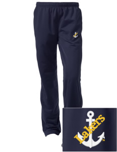 Lake Superior State University Lakers Embroidered Women's Tricot Track Pants