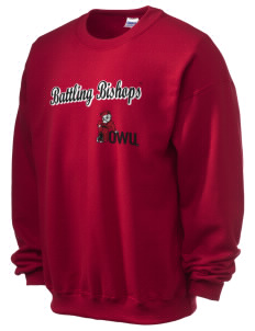 Ohio Wesleyan University Battling Bishops Ultra Blend 50/50 Crewneck Sweatshirt