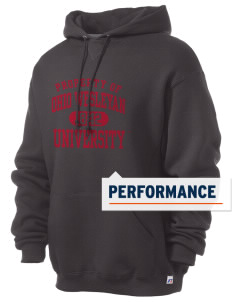 Ohio Wesleyan University Battling Bishops Russell Men's Dri-Power Hooded Sweatshirt